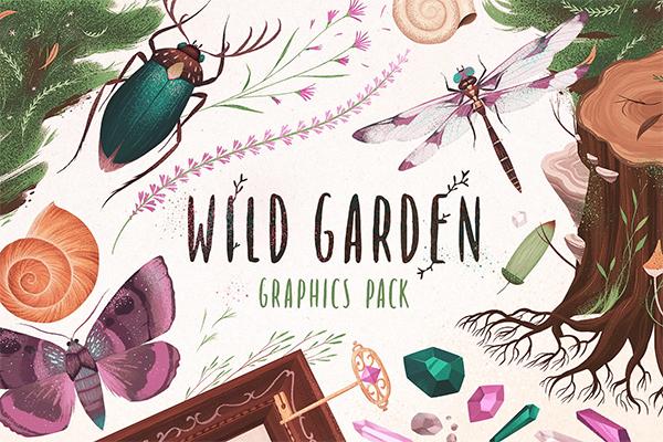 Wild Garden graphics pack