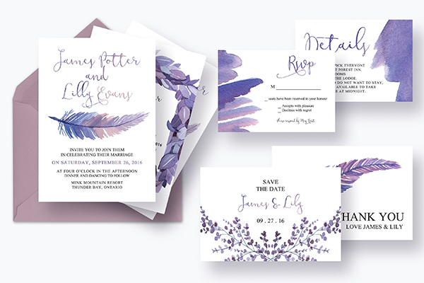 Mythical Feathers Wedding Suite
