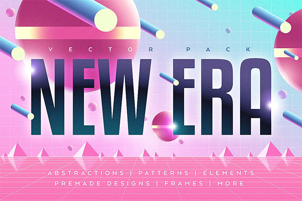 NEW ERA. Vector Graphic Pack