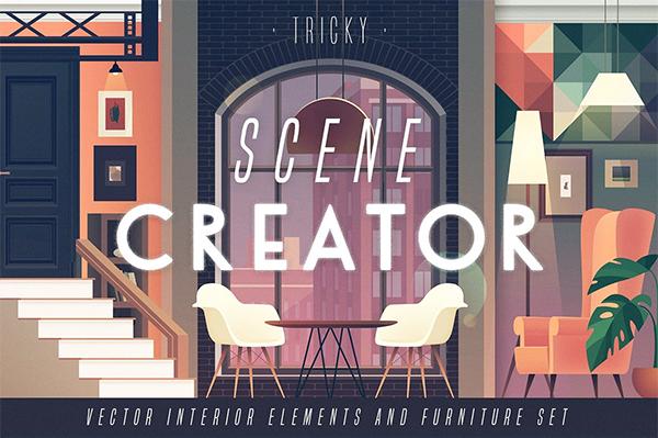 TRICKY scene creator