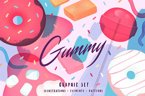 Gummy Graphic Set