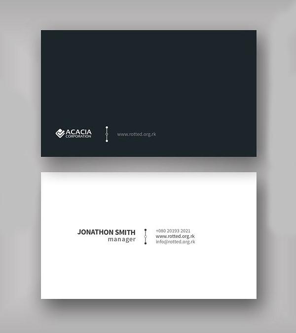 Abde Business Card