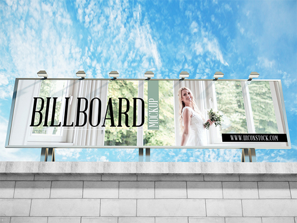 Building Top Billboard Mockup Psd 2018