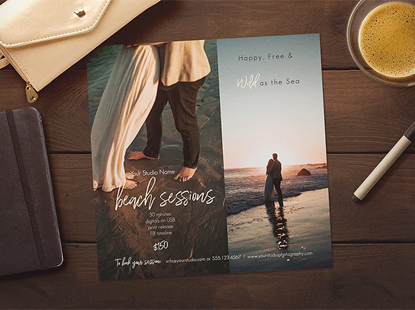 Beach Photography Sessions Template