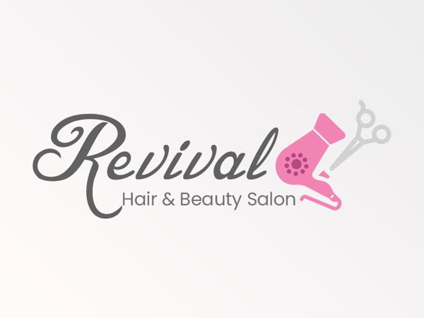 Girls Salon Logo Concept