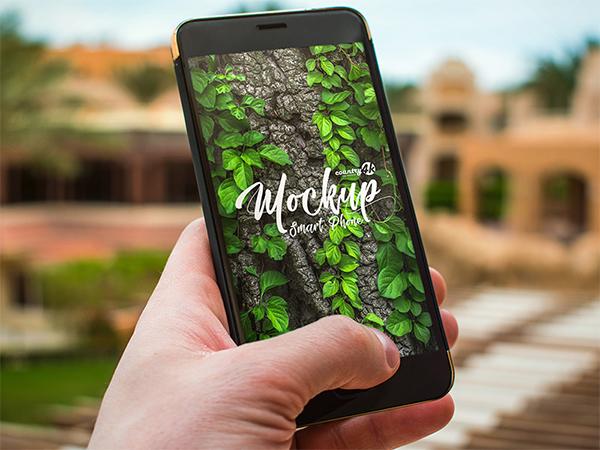 Free PSD Smartphone MockUps