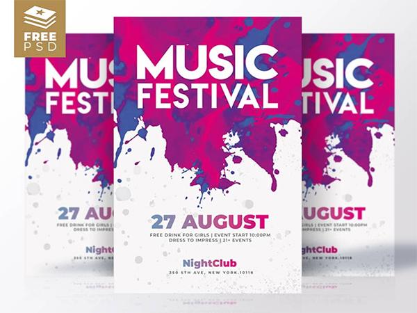 Free Flyers | Music Festival