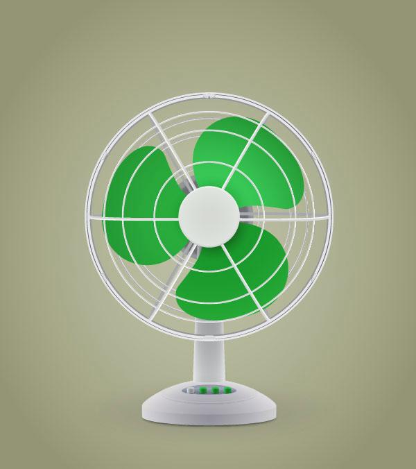 Create an Electric Fan in Adobe Illustrator