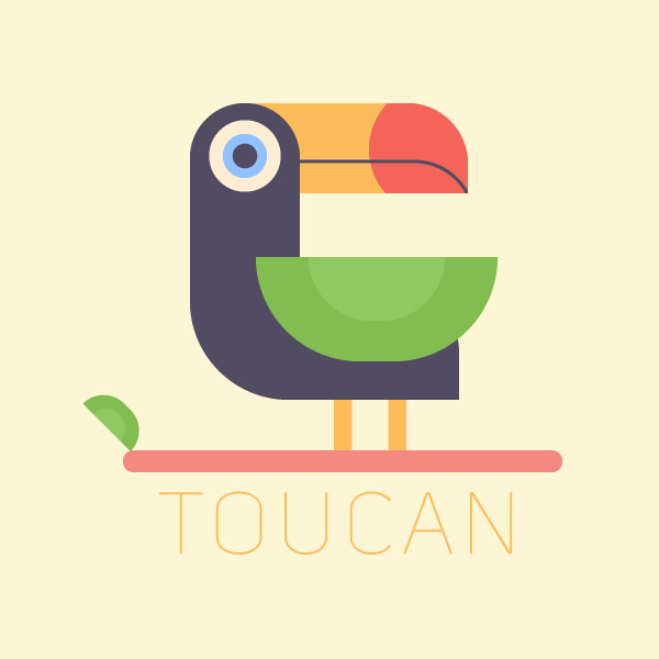 How to Draw a Tropical Bird in 10 Steps in Adobe Illustrator