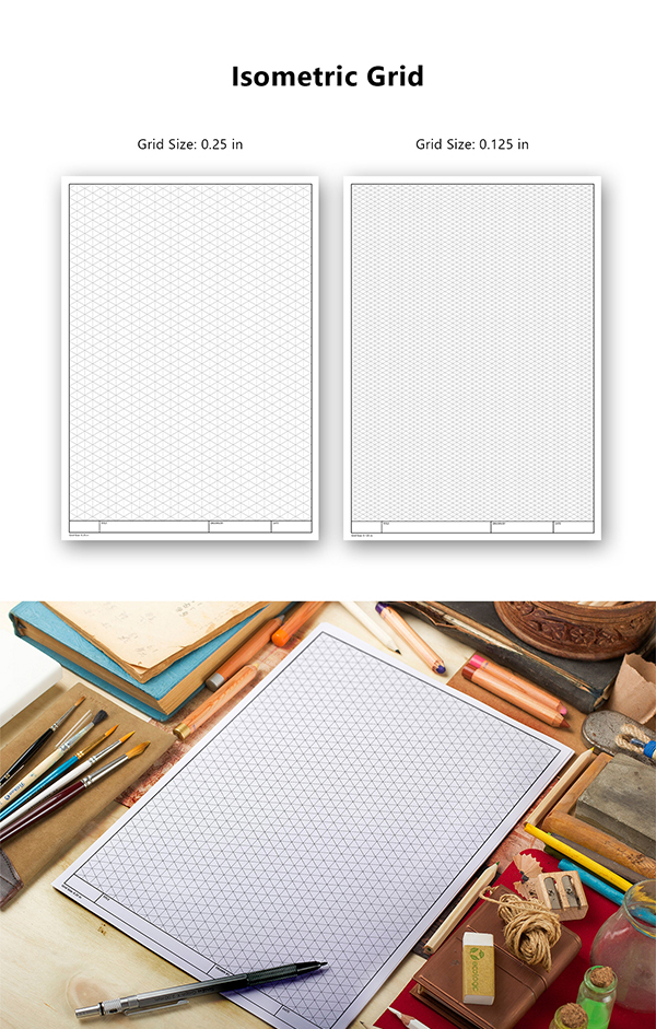 Grid Template for Sketch / Drawing