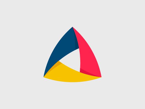 Trngl Logo Design