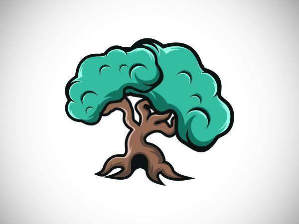 Home Tree Logo Design