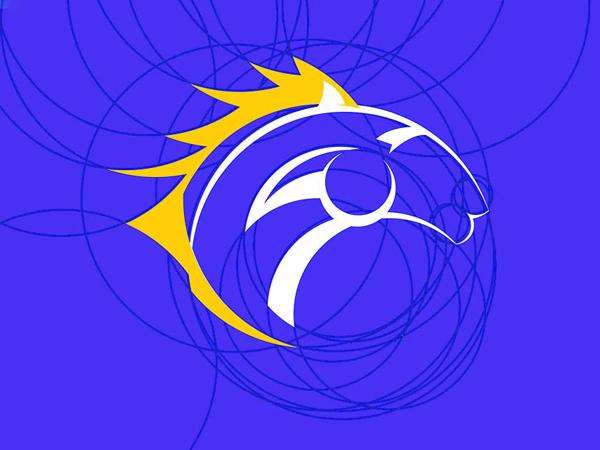 lion Golden Ratio Logo