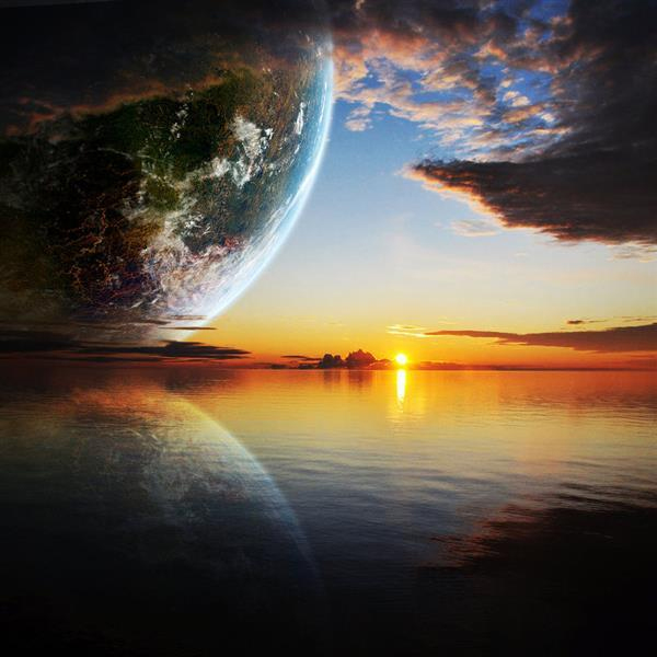 Amazing Galaxy And Outer Space Photo Manipulations