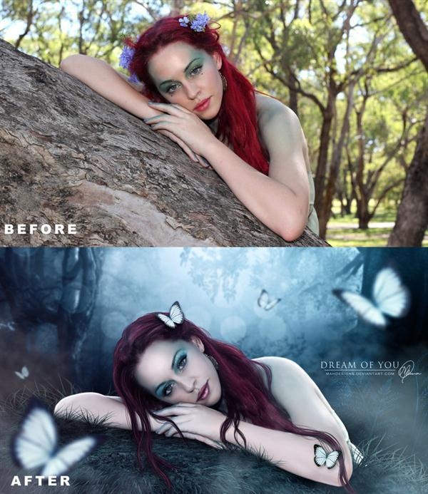 Before And After Photo Manipulations