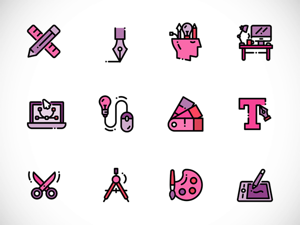 Icon Graphics Design