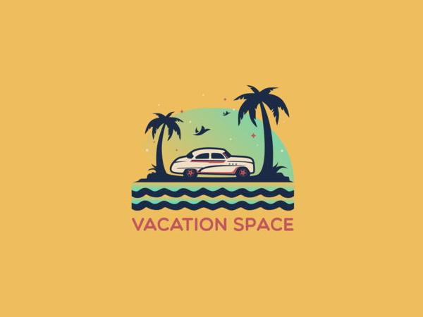 Vacation Space Logo Design