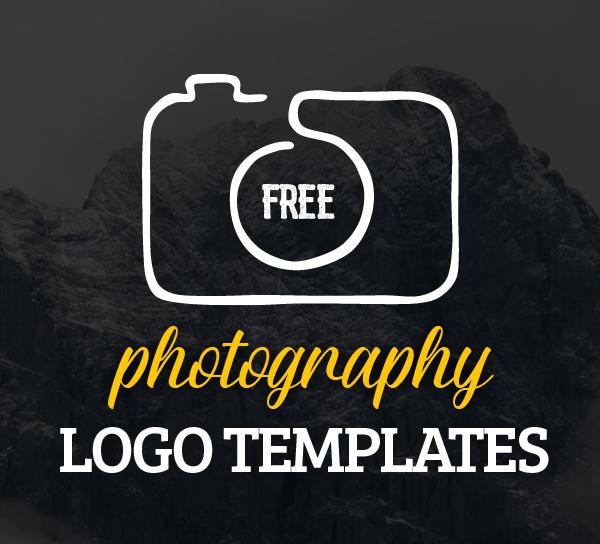 Free photography logo templates