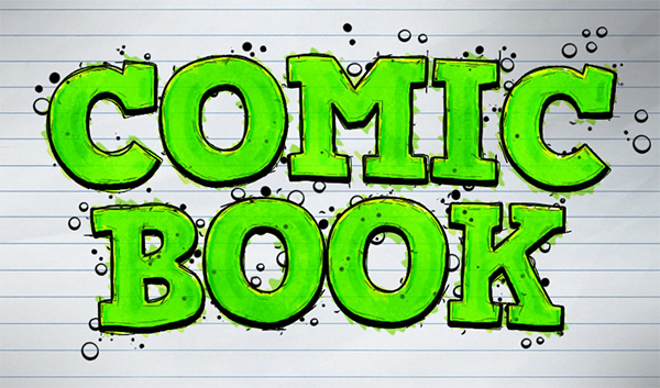 How to Create a Comic-Book Ink Text Effect in Adobe Photoshop