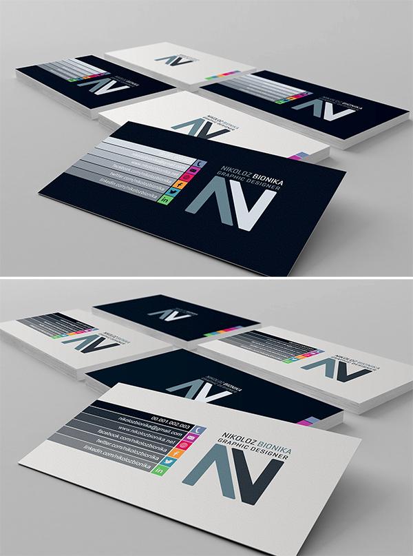 Minimal Stylish Business Cards