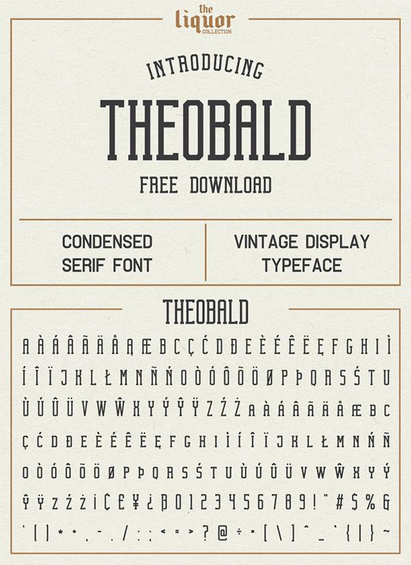 Theobald Free Font