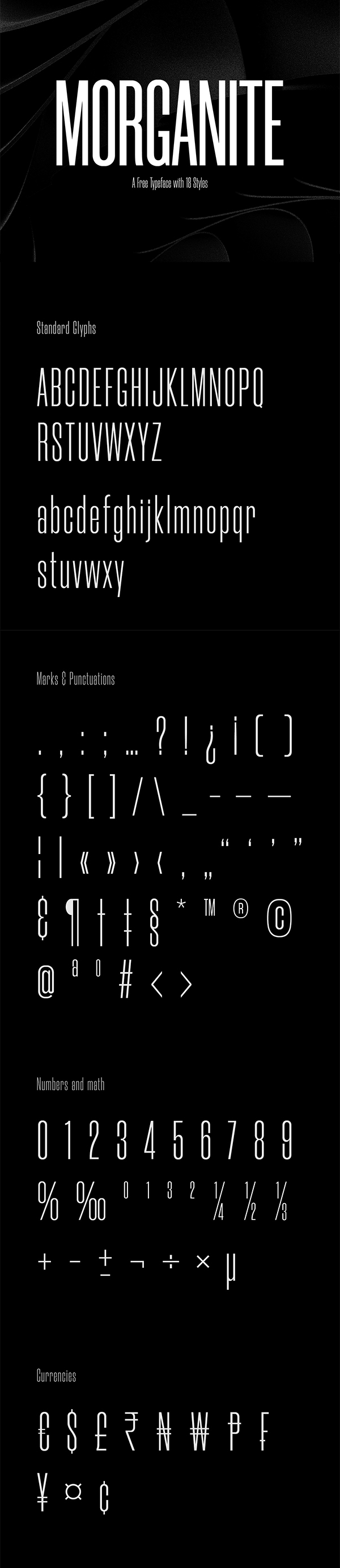 Morganite / Free Typeface