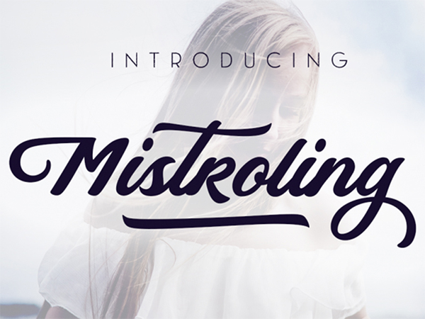 FREE Mistroling Font