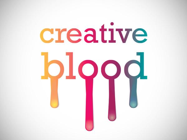 Creative Blood Logo Design