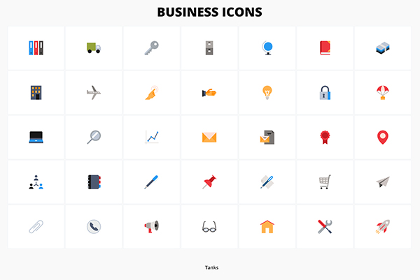 Free Download Creative Business Icons