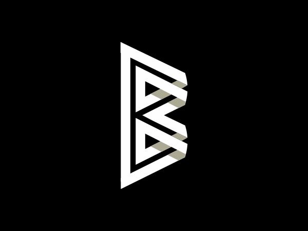 Letter B Line Logo