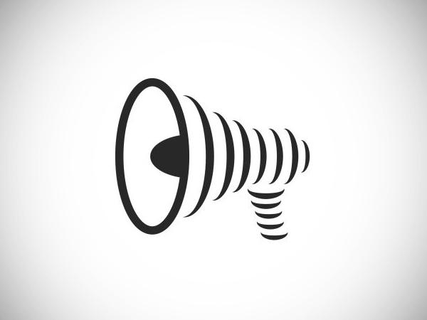 Megaphone Speaker Logo