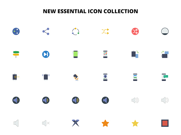 New Essential Icons Collection