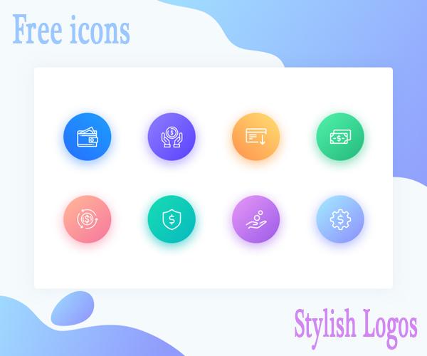 free_modern_icon_&_stylish_logo