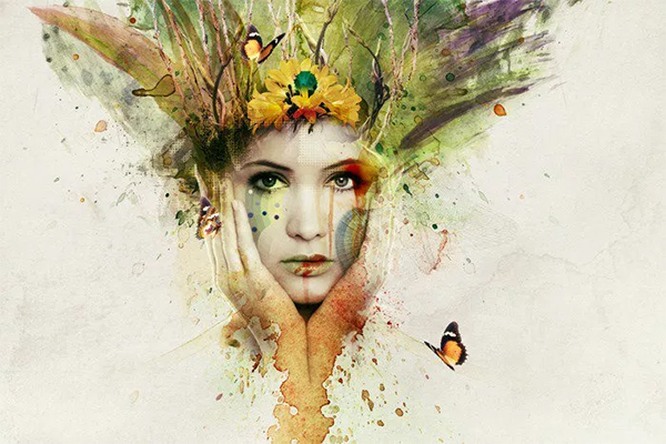 How to Create an Amazing Watercolor Artwork in Photoshop
