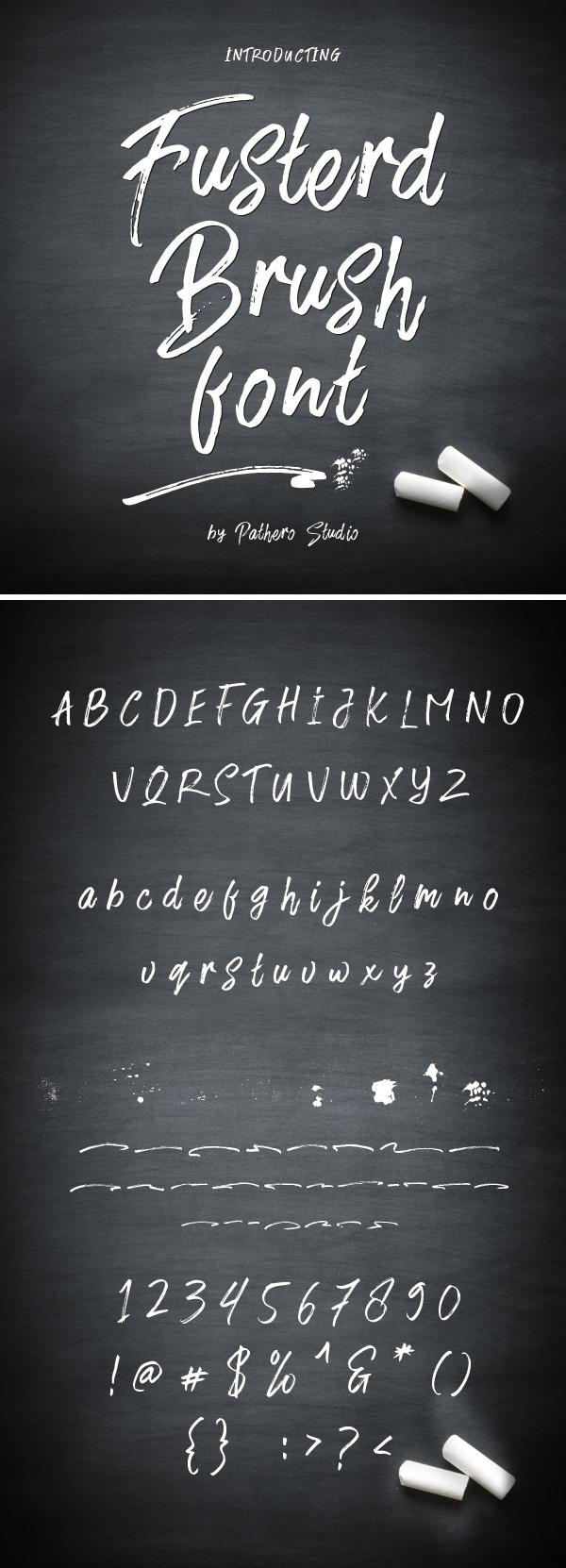 Awesome Brush Free Font