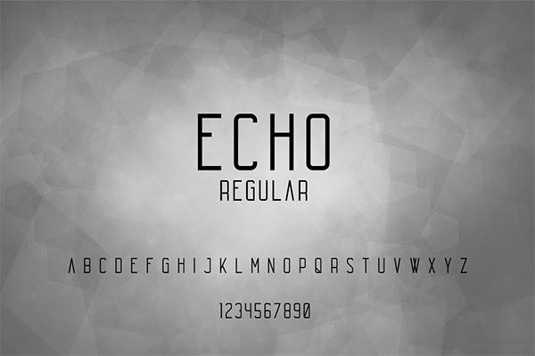 Echo Free Font