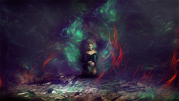 Learn How to Create Runic Magic Photo Effect in Photoshop