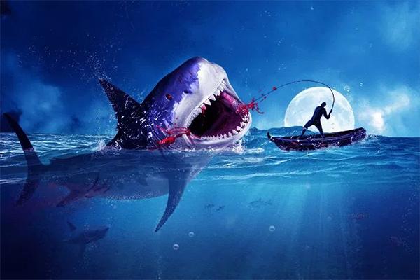 Amazing Surreal Shark Photoshop Tutorial
