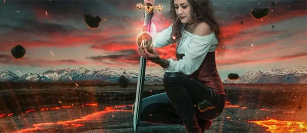 How to Create Fire Queen in Photoshop