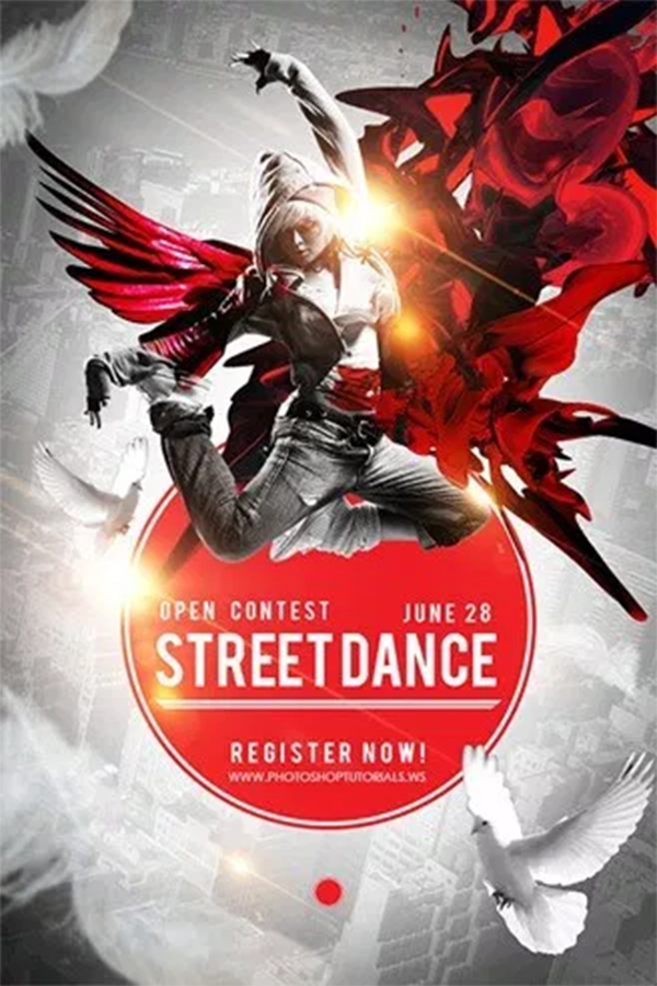 Create a Captivating Street Dance Competition Poster with Photoshop