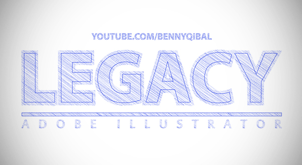 Adobe Illustrator Tutorial Scribble Text Effect