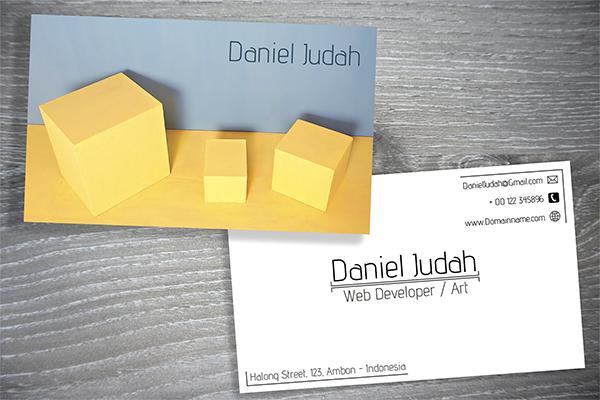 Minimalist Box Business Card