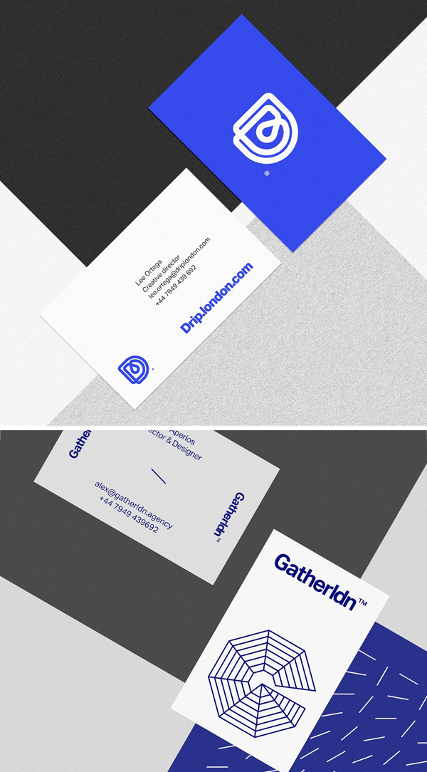 Business Card - Paper Texture