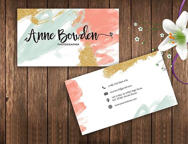 Name Card Template