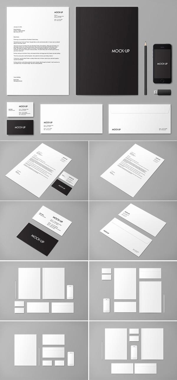 Creative Stationery & Branding Mock-up