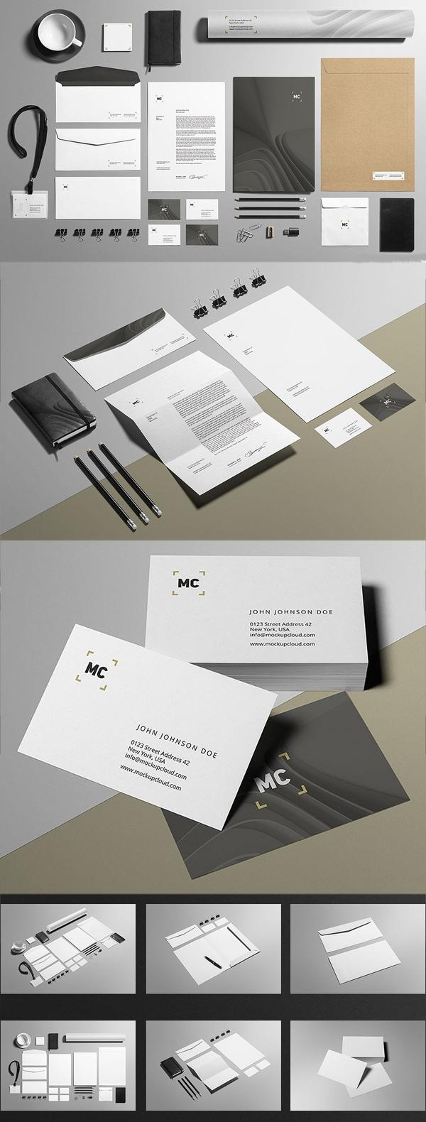 Business Stationery / Mock-Up
