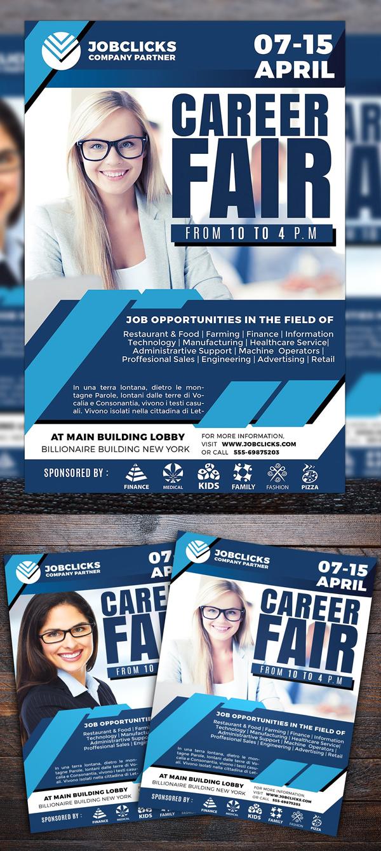 Job Career Company Flyer