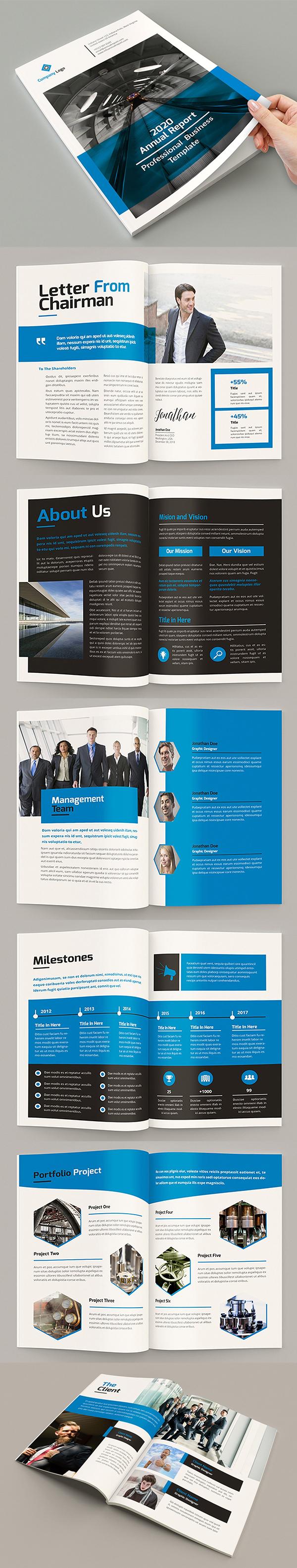 Mblandang - Annual Report Brochure