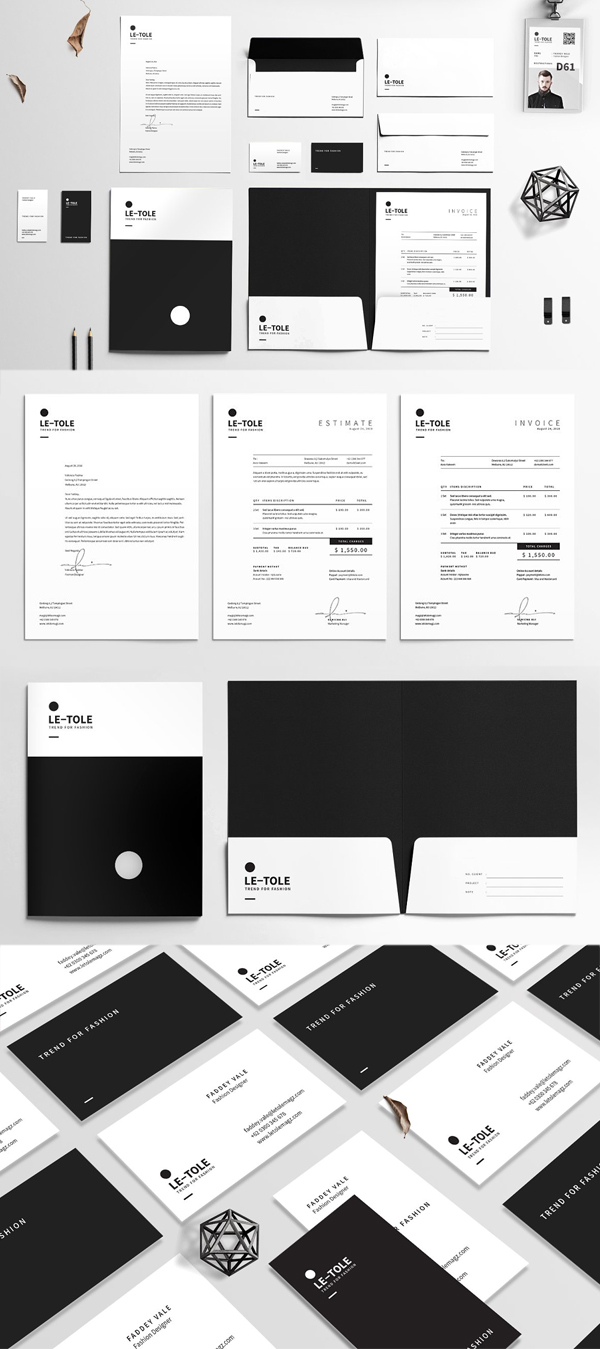 Awesome Corporate Identity