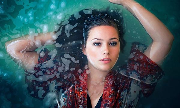 Water Portrait Editing